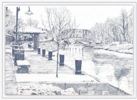 Питтсфорд. Мост 8