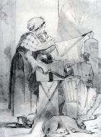 Василий Григорьевич Перов. Парижская шарманщица