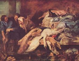 Питер Пауль Рубенс. Старая рабыня узнает Филопемена