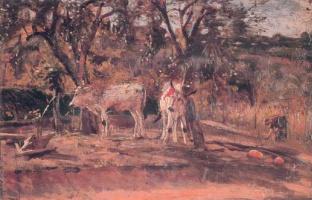 Джованни Больдини. Пейжаз.  1867