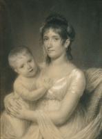 Джон Вандерлин. Г-жа Даниэль Стробел-младший и ее сын, Джордж