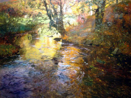 Frits Thaulow. In Quimperle