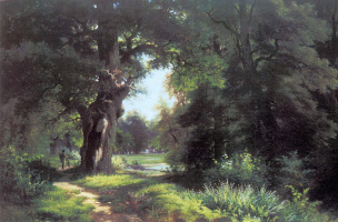Лев Львович Каменев. Пейзаж