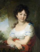 Владимир Лукич Боровиковский. Портрет гр. М. А. Орловой-Денисовой. 1801