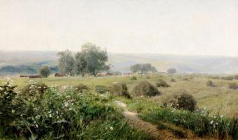 Григорий Федорович Ярцев. Летний пейзаж