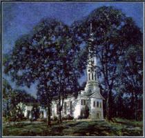 Альберт Мур. Новая Англия. Лунный свет