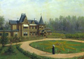 Лев Феликсович Лагорио. Дача. 1892