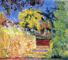 Пьер Боннар. Деревья в парке