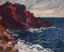 Луи Вальта. Лиловые скалы
