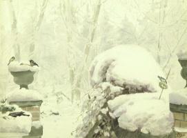 Ольга Александровна Романова. Птички на снегу