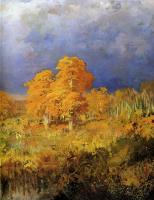 Фёдор Александрович Васильев. Болото в лесу