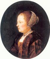 Геррит Доу. Портрет женщины 2