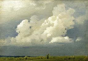 Isaac Levitan. Before the storm (Cloud)