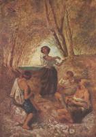 Ансельм Фридрих Фейербах. Цыганский танец