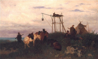 Йозеф фон Брандт. Стража над Днепром