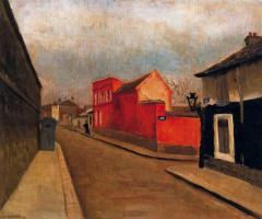 Андре Хамбоург. Красный дом