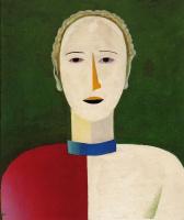 Казимир Северинович Малевич. Женский портрет