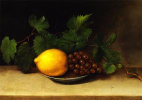 Рафаэль Пил. Лимон и виноград