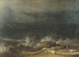 Joshua Shaw. The Deluge towards Its Close