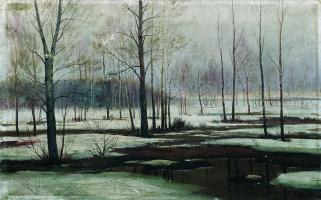 Ефим Ефимович Волков. Зимний пейзаж