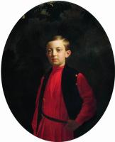 Сергей Константинович Зарянко. Портрет великого князя Николая Александровича (1843-1865)