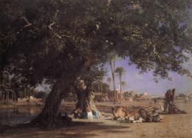 Леон Белли. Под деревом