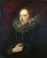 Антонис ван Дейк. Женский портрет