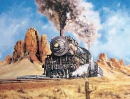 Джим Денин. Поезд
