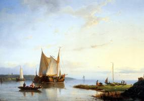 Эверхардус Костер. Лодки на воде