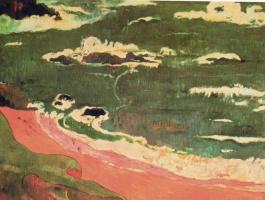 Поль Гоген. Пляж в Ле Поулду