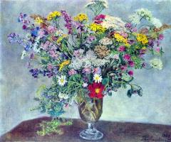 Петр Петрович Кончаловский. Полевые цветы