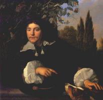 Бартоломеус ван дер Гельст. Джентльмен в саду