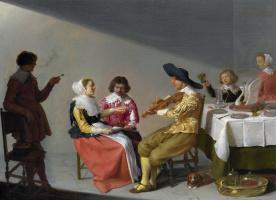Jacob Van Velsen. Music party