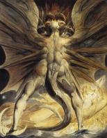 Уильям Блейк. Иллюстрации к Библии. Большой красный дракон и женщина, одетая в солнце