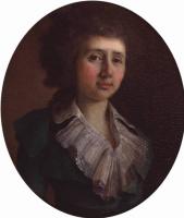 Владимир Лукич Боровиковский. Портрет Капнист.