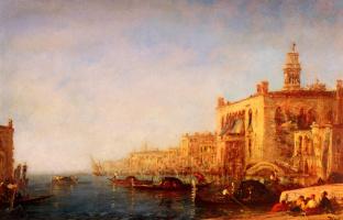 Феликс Зием. Большой канал в Венеции