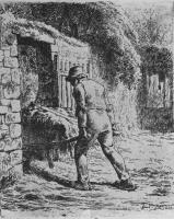 Жан-Франсуа Милле. Крестьянин с навозной телегой