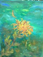 Rita Arkadievna Beckman. The moon... Gone with the wind, a chrysanthemum petal