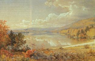 Уильям Трост Ричардс. Осенний пейзаж