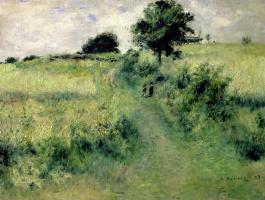 Pierre-Auguste Renoir. Meadow