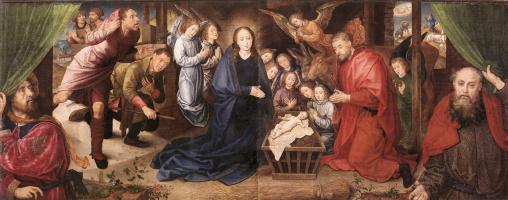 Ван Дер Гоес Гюго. Рождение Христа