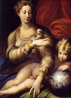 Франческо Пармиджанино. Мадонна с розой
