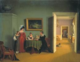 Федор Петрович Толстой. Семейный портрет