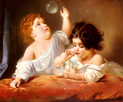 Анри Гийом Шлезингер. Воздушные пузыри