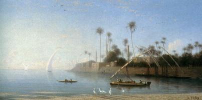 Карл Теодор Фрер. Египет