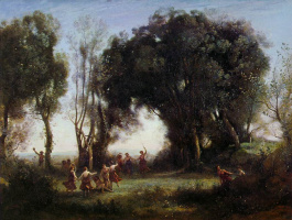 Camille Corot. Morning