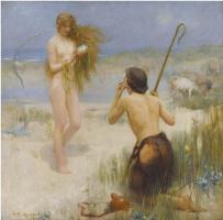 Артур Хакер. Морская дева. 1897