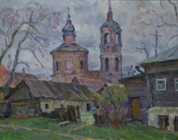 Борис Петрович Захаров. Провинция. Этюд.