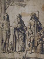 Джованни Беллини. Святой Себастьян, святой Антоний и святой Рох