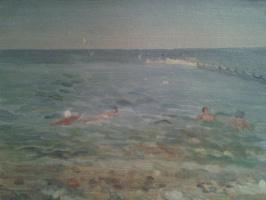 Крым. Ялта. Море.